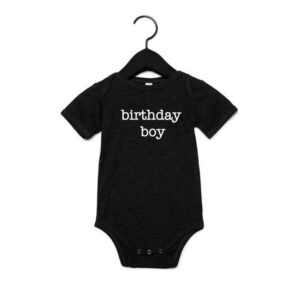 Birthday boy romper