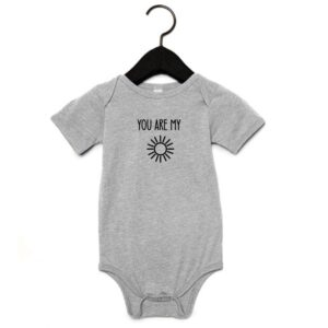 You are my sunshine romper