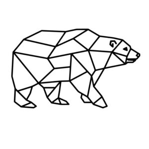 Geometrische ijsbeer